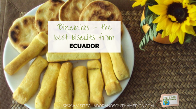 Bizcochos, the best biscuits from Ecuador!