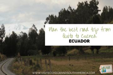 Road trip Quito Cuenca