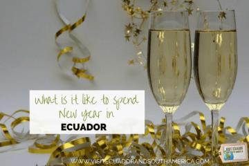 New year in Ecuador