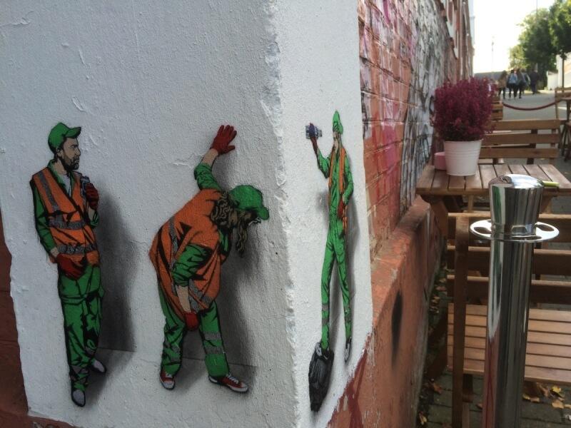 Street art in Stavanger, one of the leading destinations for Street art worldwide