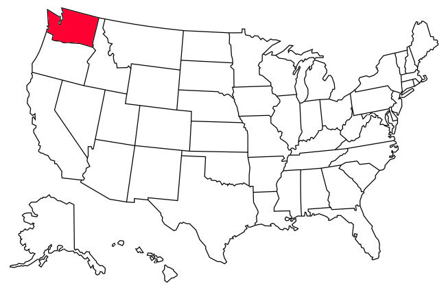 States Visited Map