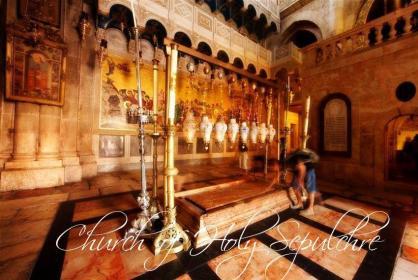 Santo sepulcro ,tour jerusalen