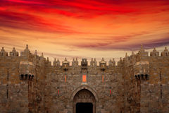 Puerta de Damasco en Jerusalem