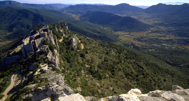 Corbieres vineyards, Languedoc