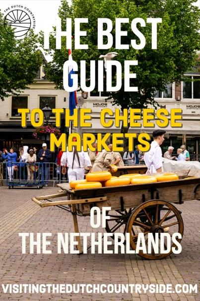 Visiting Cheese market Alkmaar | Best things to do in Alkmaar The Netherlands | Guide to cheese markets in The Netherlands | How to visit all the cheese markets of The Netherlands | Visit the last real cheese market of The Netherlands