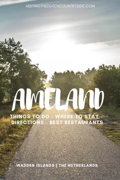 A one day or weekend itinerary for the Wadden Island of Ameland, The Netherlands. Find where to rent bikes, how to get to Ameland and the best things to do here.