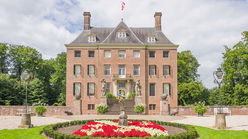 Castle Amerongen in Amerongen in the Netherlands. It is one of Utrechts most beautiful and best kept castles