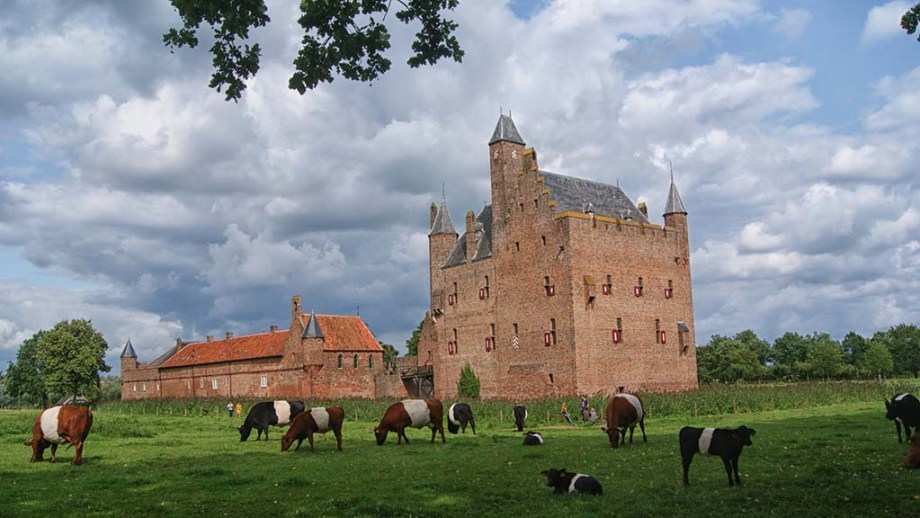 Castle Doornenburg which can be visited in the province of Utrecht, The Netherlands
