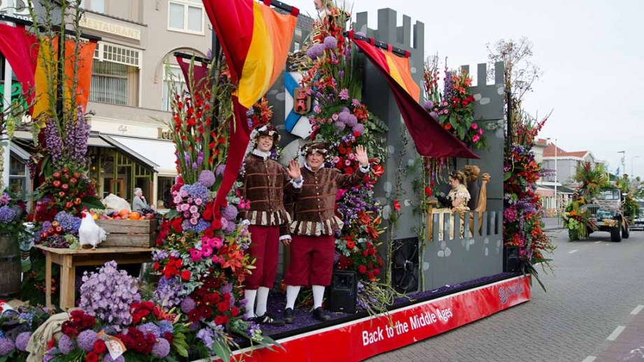 The Rijnsburg flower parade in The Netherlands is one of the most special and popular parades to visit.