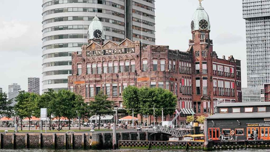 Holland Amerika Lijn head quarters in Rotterdam, The Netherlands: Hotel New York