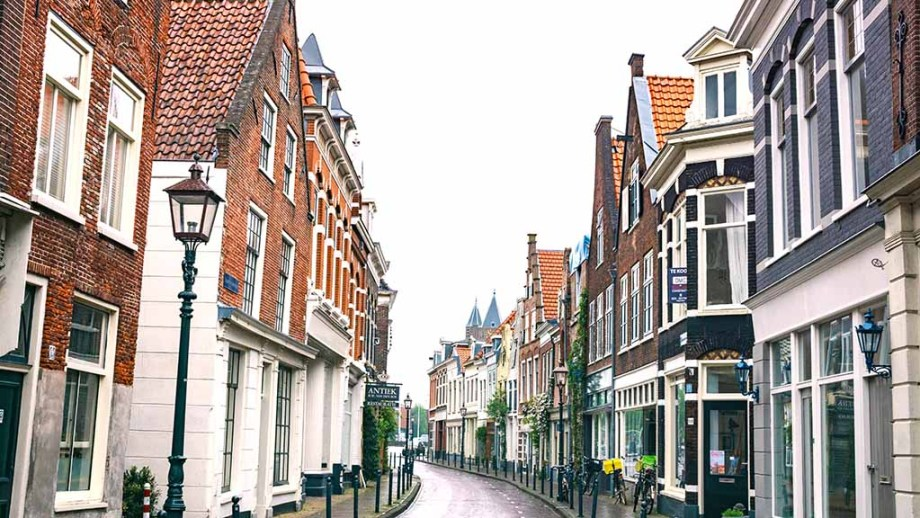 One of Haarlem's most idyllic streets