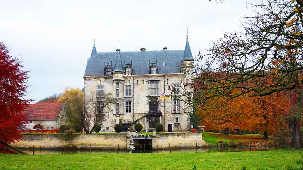 castle hotel schaloen limburg netherlands