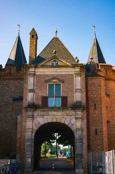 City gatein the Dutch city of Arnhem, Gelderland, The Netherlands