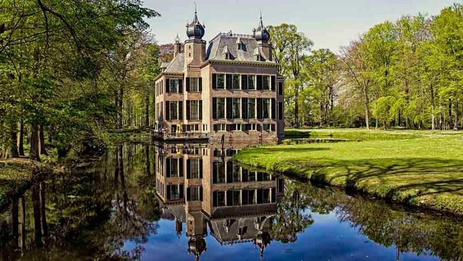 Castle Oud- Poelgeest near the city of Leiden in the province of Zuid- Holland, The Netherlands is a castle hotel