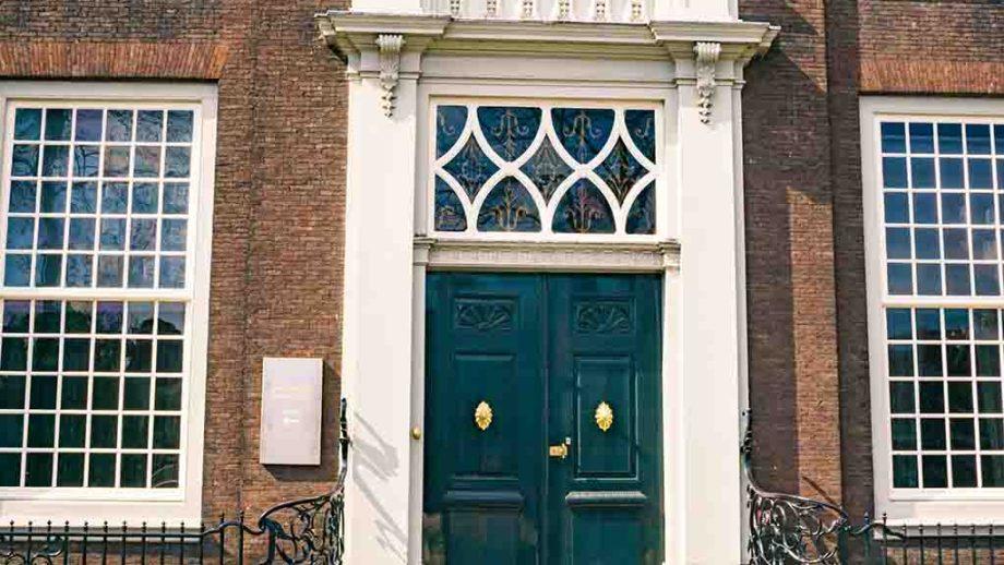 Huis van Gijn museum in the town of Dordrecht, Zuid- Holland, The Netherlands