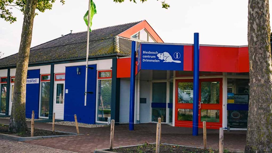 Biesbosch Centre in the village of Drimmelen, Noord (North)- Brabant, The Netherlands