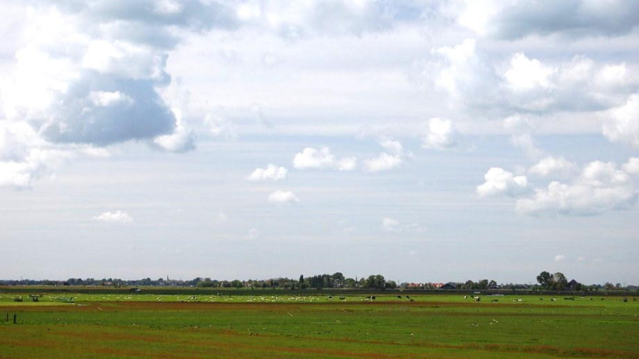 a view on the hamlet of Holysloot nearby Amsterdam