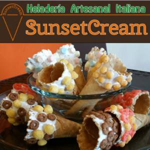 SunsetCream heladeria italiana