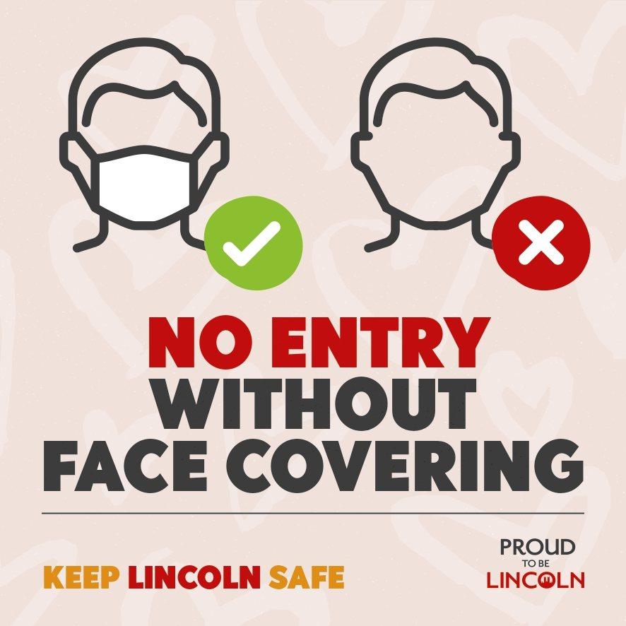 face coverings legislation for shops