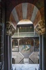 Castello Bonoris interno