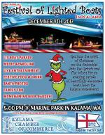 Festival of Lighted Boats – Kalama