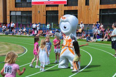 Wenlock, The London 2012 mascot at Wenlock Olympian Games