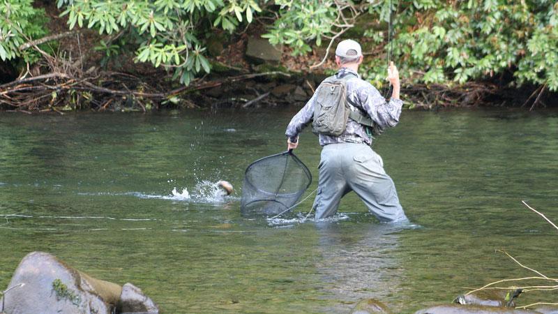 Nantahala Trout Fishing