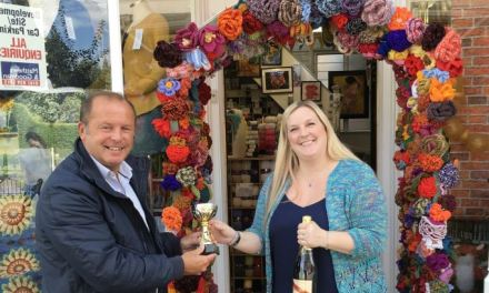 Northwich 'In Bloom' Competition Winners Receive Prizes