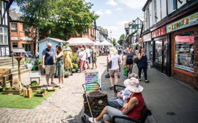 Northwich shortlisted in the Great British High Street Awards 2018