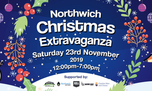 Get ready for the 2019 Northwich Christmas Extravaganza