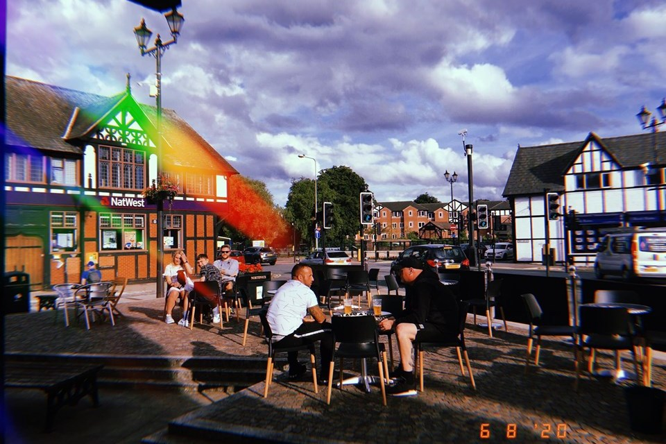 Enjoy drinks al fresco in Northwich this summer