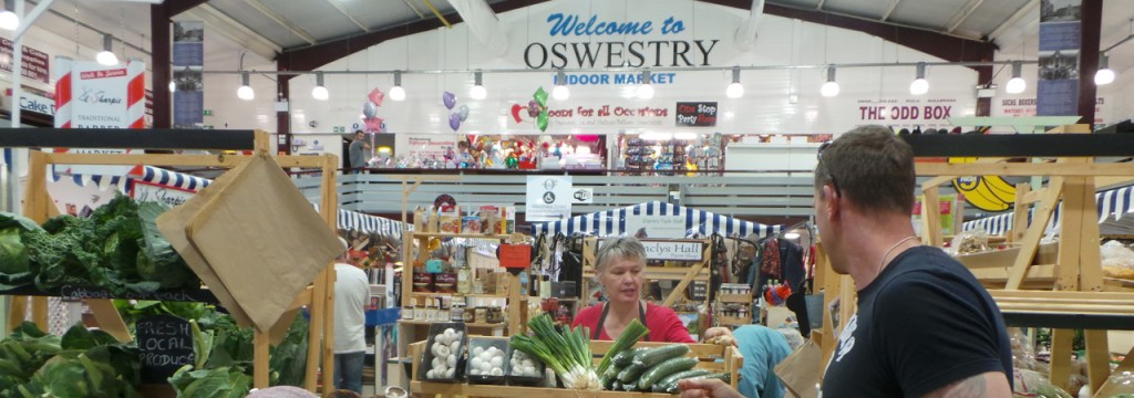 Oswestry, North Shropshire market town
