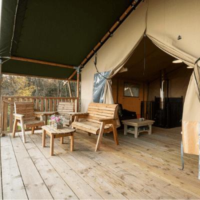 Campsites, caravan sites Shropshire