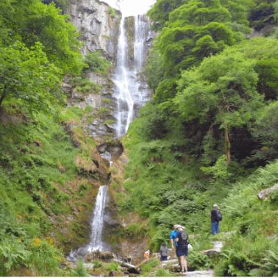 Llanrhaeadr Waterfall - Pistyll Rhaeadr