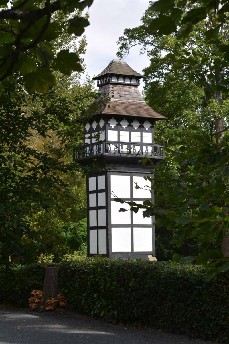 tower at Plas Newydd Llangollen