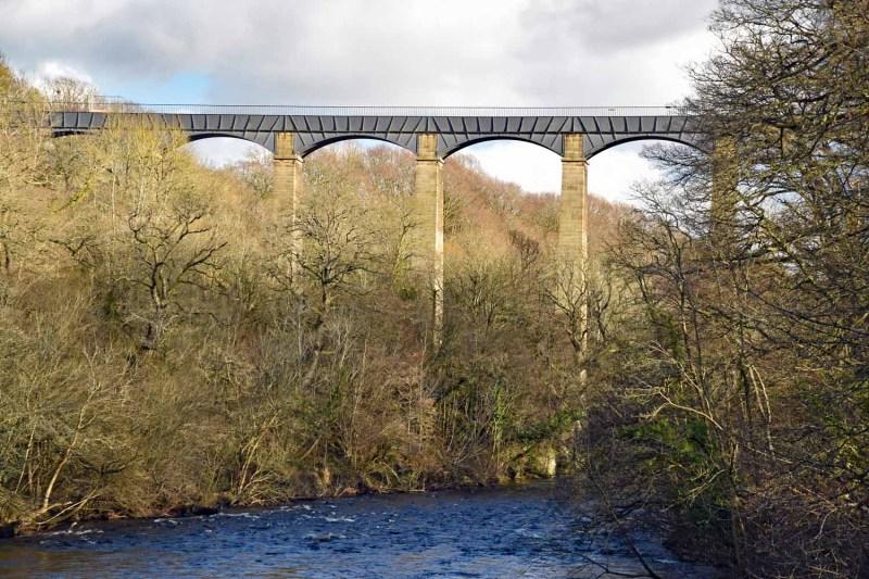 aqueduct at Pontcysyllte