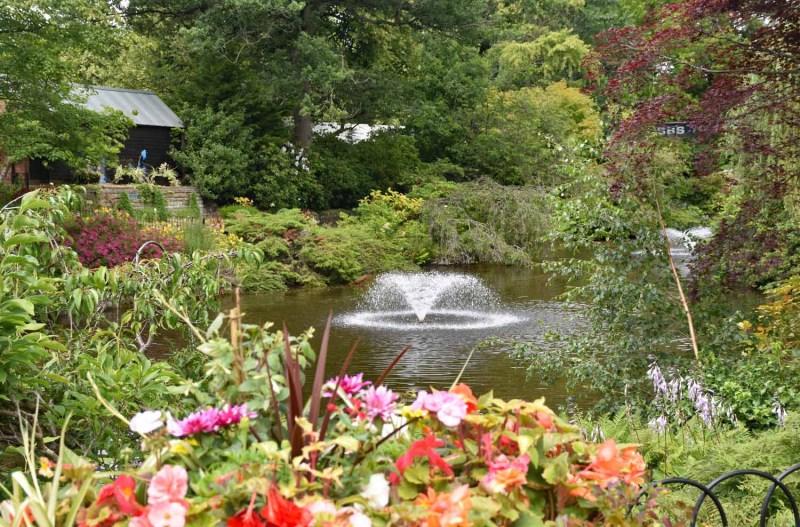 The Dingle Shrewsbury Parks and Gardens North Shropshire