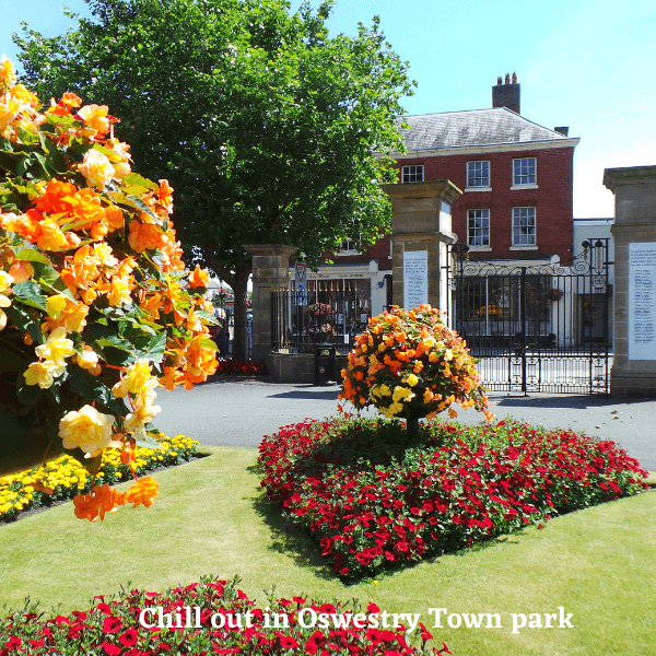 Oswestry Town park