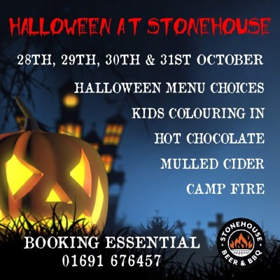 Halloween Oswestry Stonehouse Brewery
