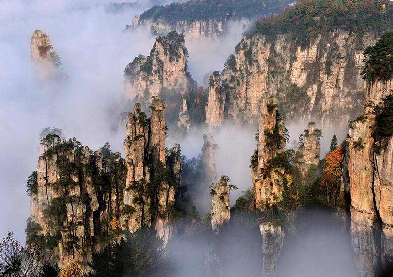 Risultati immagini per tianzi mountain