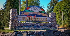 Welcome sign in Eatonville