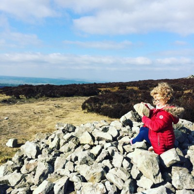 Exploring Stiperstones in Shropshire