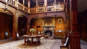 Stokesay Court main hall