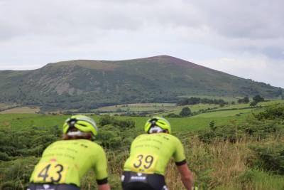 Cycling in the Shropshire Hills