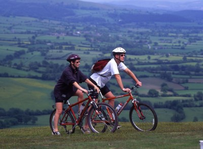 Cycling in Shropshire and the Welsh Borders
