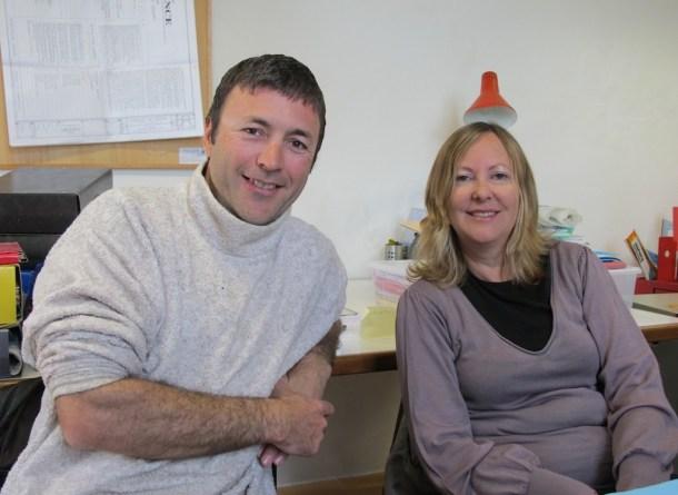 Judy e James