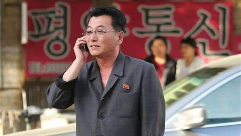 Can I bring my phone in North Korea?