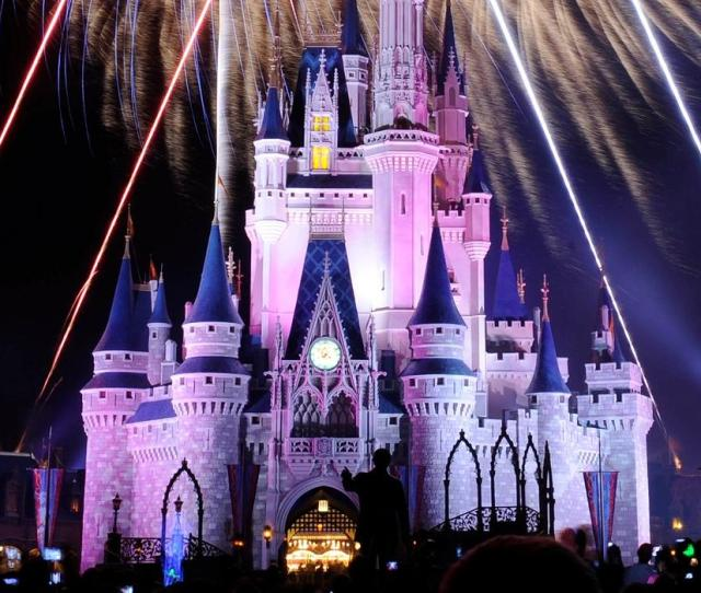Cinderellas Castle At The Magic Kingdom In Walt Disney World
