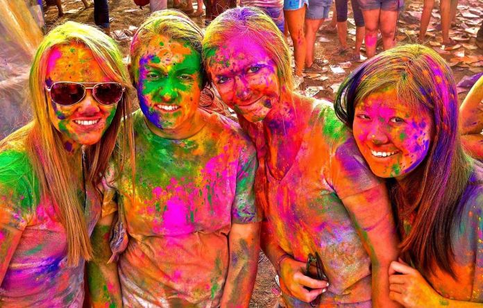 top places in India for Holi Celebration