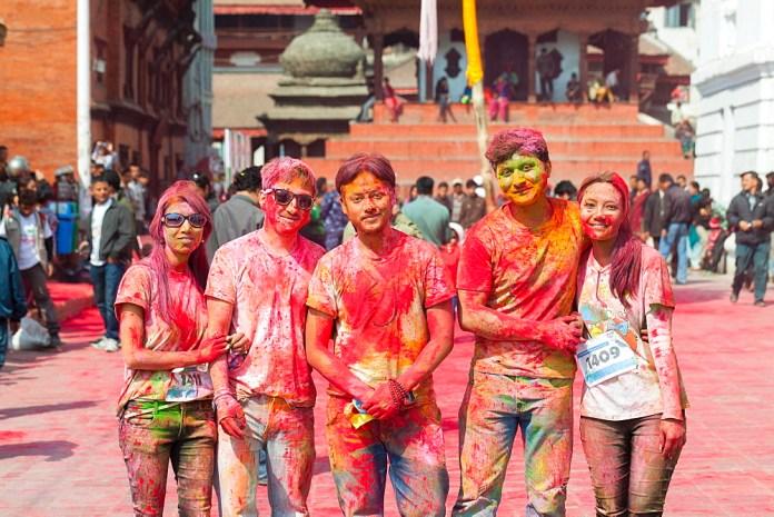 holi Celebration in Nepal